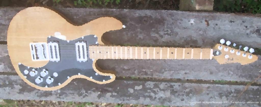 Peavy T-60 Guitar, Meridan, Mississippi - 1976