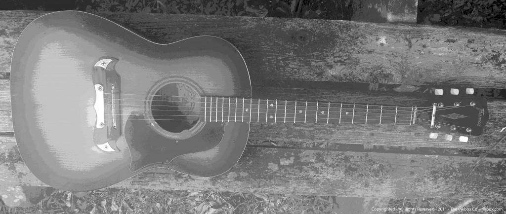 My Texan Framus Guitar, 1967, Bavaria